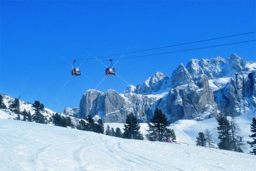 Skiing holidays in Val Gardena
